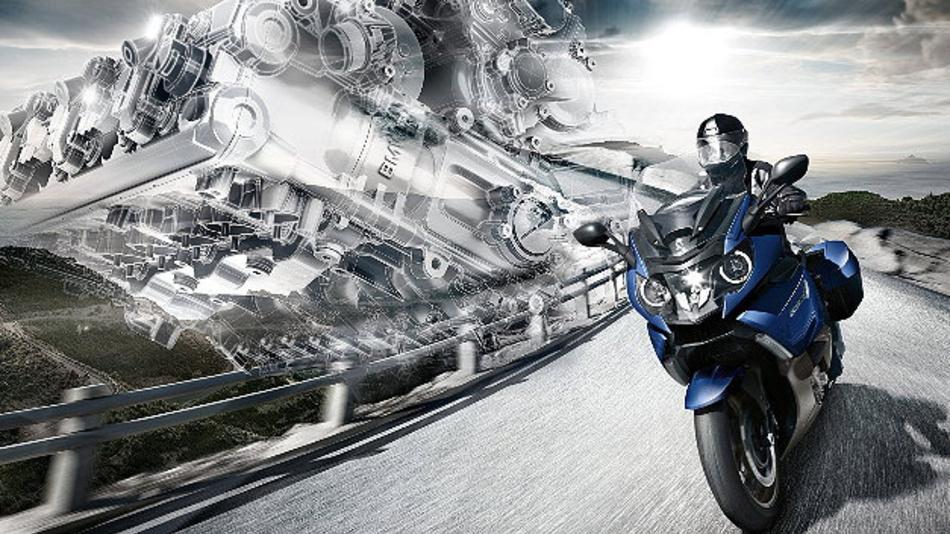 Die K 1600 GT von BMW Motorrad verschafft mehr Sicherheit mit der eCall-Funktion.