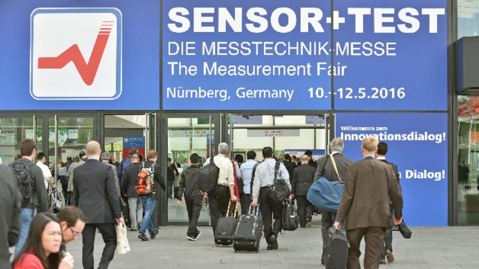 Die Sensor+Test wird vom 30. Mai bis 1. Juni 2017 in der Nürnberger Messe stattfinden.