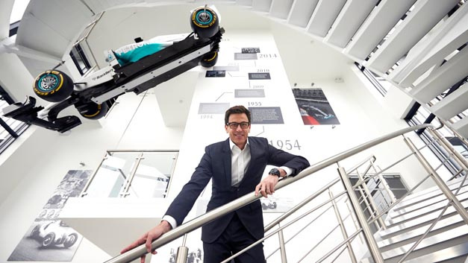 Sieht die Formel E als wichtige Forschungs- und Entwicklungsplattform für die Industrie: Toto Wolff, Motorsportchef bei Mercedes.