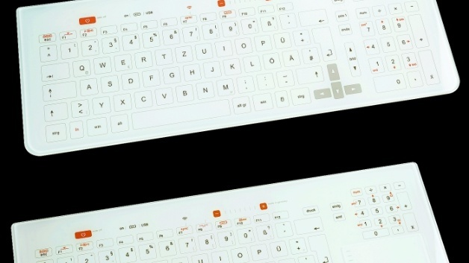 SteriKey Designtastatur