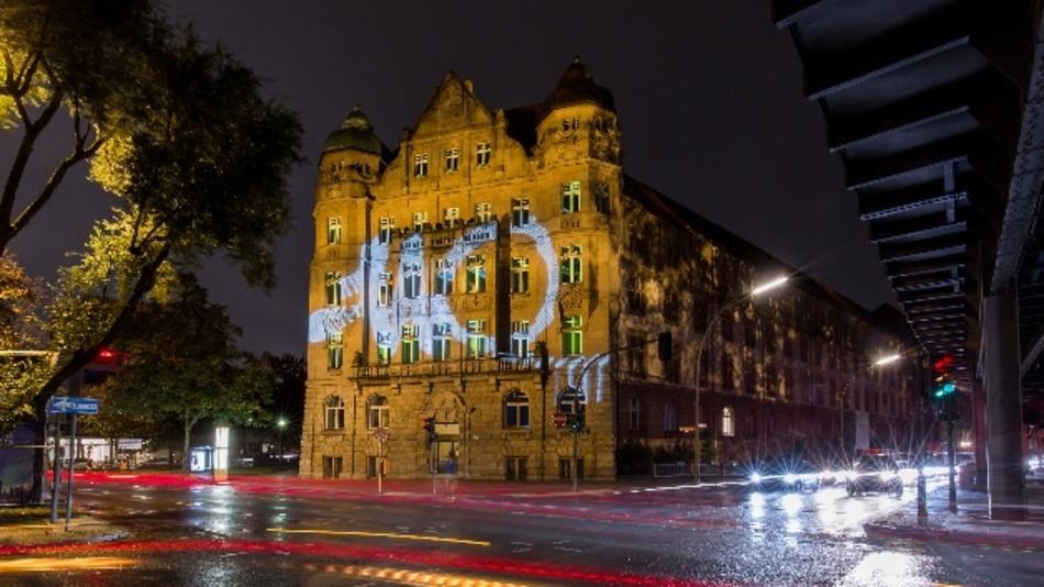 Osram setzt Patentamt in Berlin zum Festival of Lights eindrucksvoll in Szene