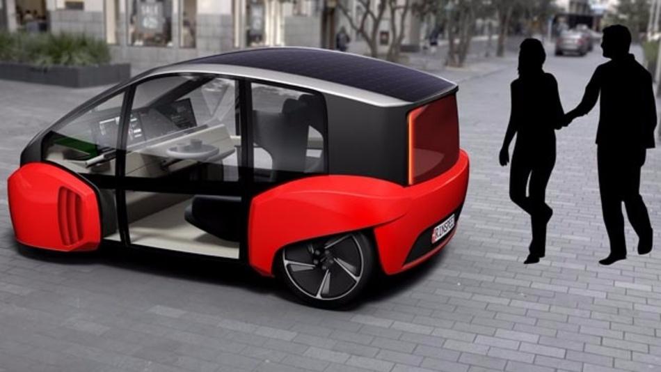 Das Fahrzeug als kleine Oase nutzen? Gar kein Problem, wenn es nach Frank M. Rinderknecht von Rinspeed geht. Hierfür wurde das selbstfahrende Elektroauto Oasis entwickelt.