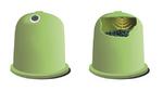 Mit Funksensoren überwacht Smartbin Abfallcontainer.
