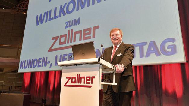 Johann Weber, Zollner Elektronik: »Als reiner Mechatronik-Dienstleister sind wir immer vom Kunden und vom Markt abhängig,und wir wollen es auch gar nicht anders haben. Wir sind dort, wo der Kunde uns braucht.«