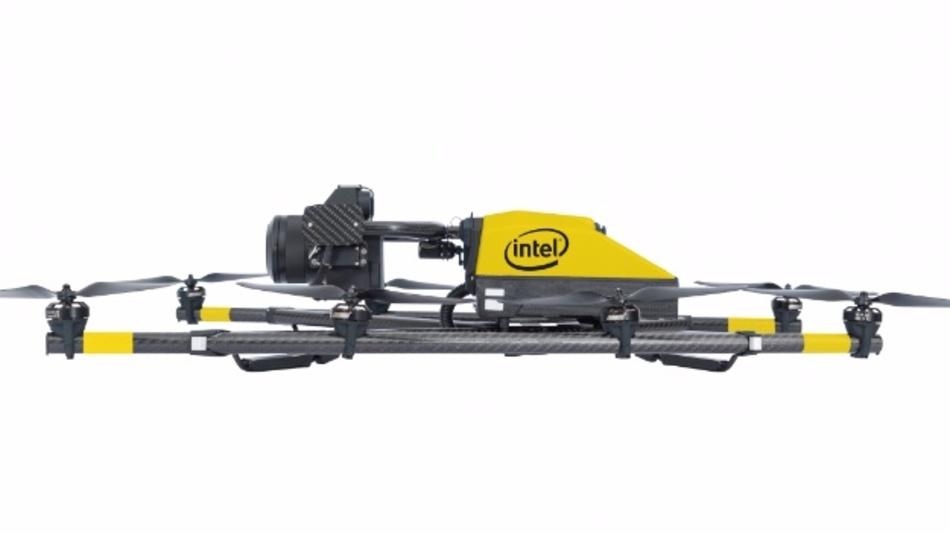 Die Flugdauer gibt Intel mit 16 bis 26 Minuten an.