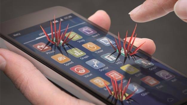 Apps, die Webtechniken wie HTML und JavaScript nutzen, sind auch mit den Sicherheitsrisiken dieser Techniken behaftet.