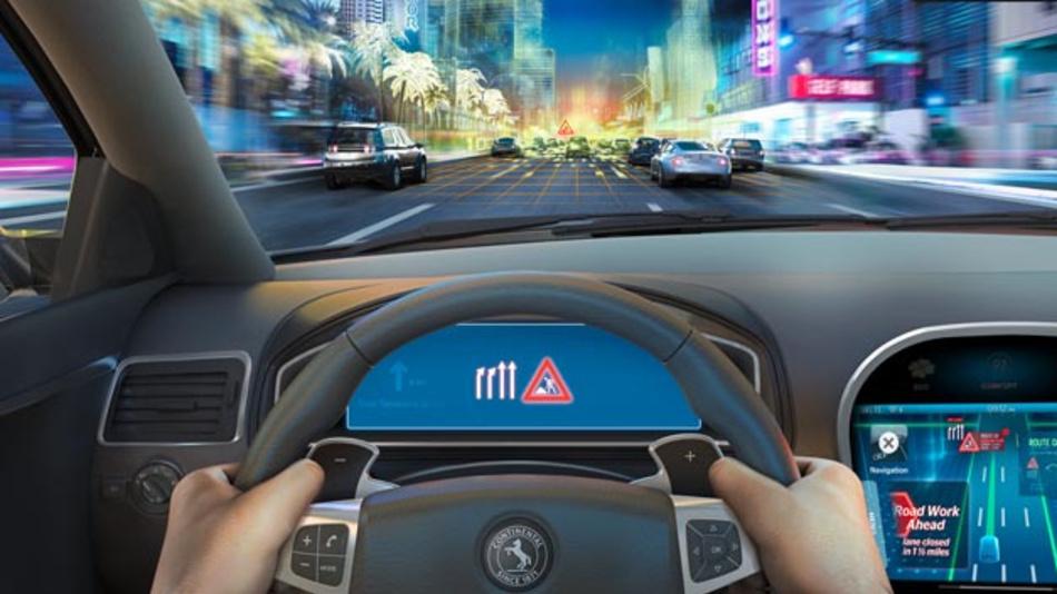 Zukünftige Assistenzsysteme bauen auf die exakten Straßeninformationen aus der Road Database.