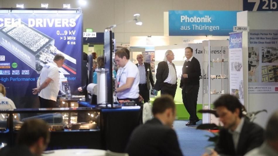 Premiere geglückt: Aussteller und Besucher zeigten sich sehr zufrieden mit der ersten »micro photonics« in Berlin.