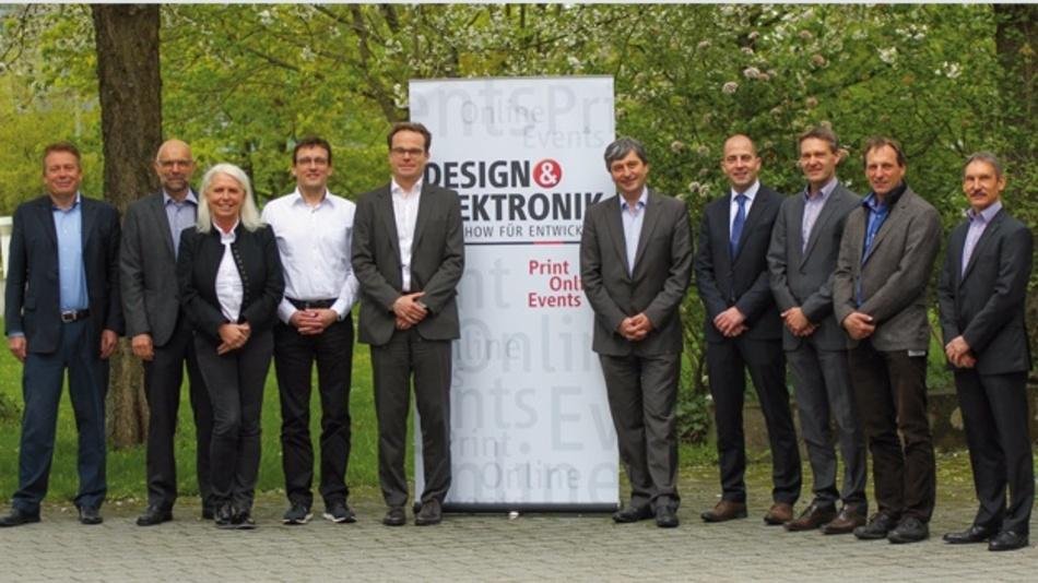 Die Teilnehmer des DESIGN&ELEKTRONIK Tech-Talks trafen sich bei den WEKA Fachmedien in Haar bei München.