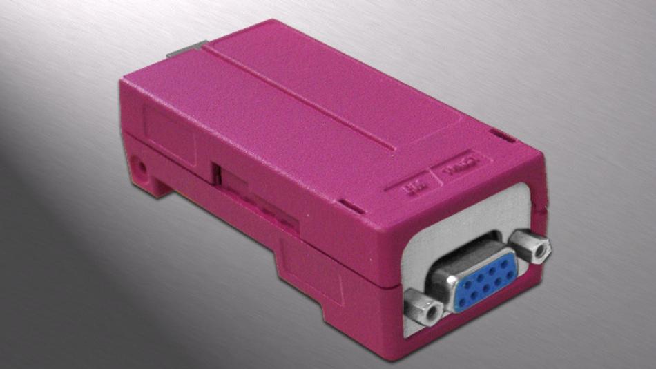 Das EM-Modul MCAN misst 93 x 38,5 x 26,6 mm³ und wiegt 40 g.