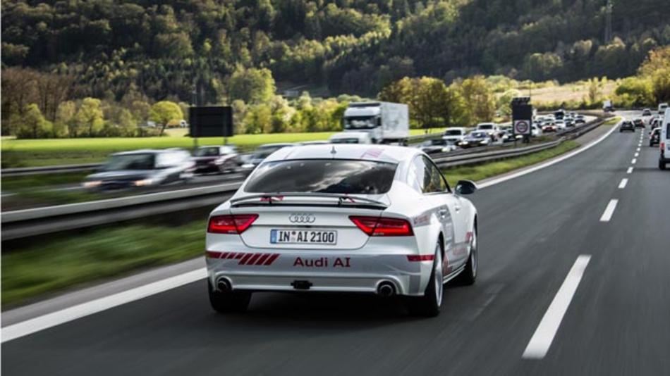 Audi engagiert sich im Projekt Digitales Testfeld Autobahn mit neuen Technologien.
