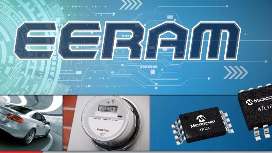 EERAM Speicher ist eine Kombination aus SRAM und EEPROM als Back-up-Speicher.