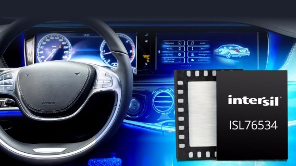 Programmierbarer 14-Kanal-Gammapuffer für Infotainment- und ADAS-Display.