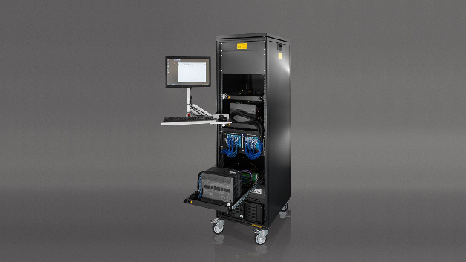 Die Testumgebung für Brennstoffzellensteuerungen – in diesem Fall eine Siemens Simatic S7 – simuliert alle relevanten Betriebsparameter.