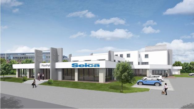 So ungefähr soll das neue Kompetenzcenter von Seica in Karlsruhe aussehen.