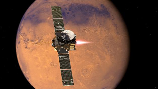 Die ExoMars-Mission 2016 der ESA ist mit einem halben Dutzend verschiedener Kamerasysteme und Analysegeräte von Infineon ausgestattet.