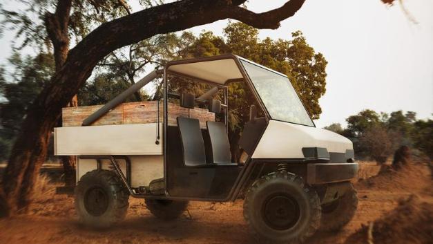 Das »aCar« soll Elektromobilität auch in Gegenden mit schlechter Infrastruktur ermöglichen.