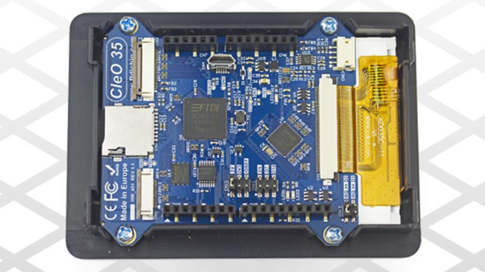 Das CleO-Entwicklungsboard ist die Hardware, weitere Software-Entwicklungstools und ein Forum für Entwickler stellt FTDI ebenfalls bereit.