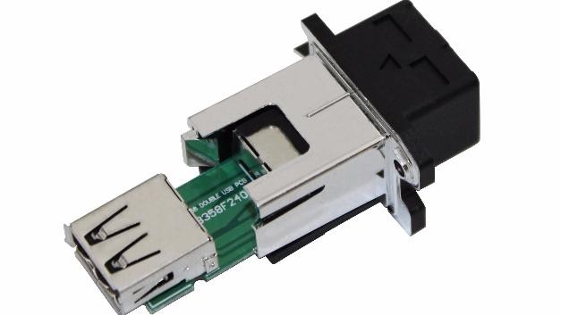USB Steckverbinder für raue Umgebungen