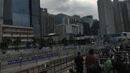 Blick auf den Rennkurs von Hongkong.