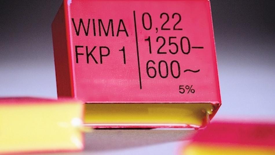 WIMA Impuls-Kondensatoren