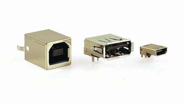USB-2.0- und 3.0-Stecker