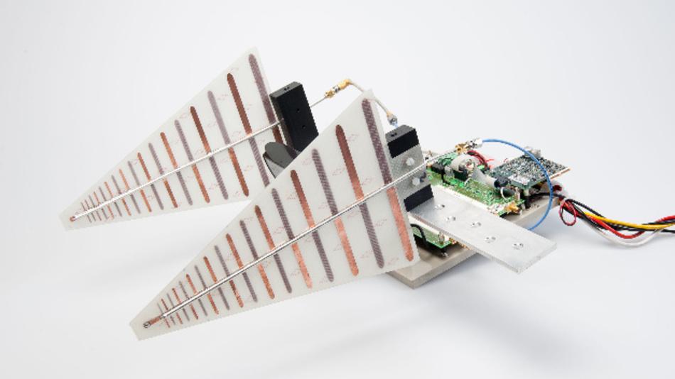 Der Schwerpunkt der Forschungsarbeit der Uni-Ingenieure um Prof. Christian ist die Radar-Signalprozessierung.