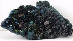 Typischer Acheson-Kristall, aus dem die ersten Keime für SiC-Wafer gewonnen wurden.