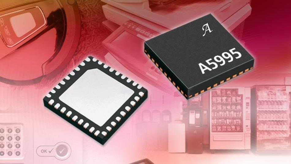 Der A5995 integriert einen PWM-Regler mit fester Auszeit für die Stromregelung.