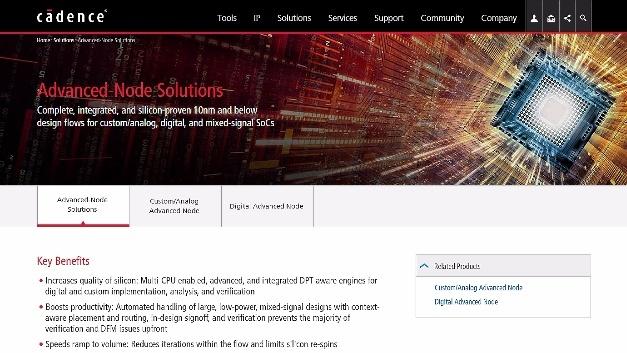 Digital- und Signoff-Lösungen von Cadence