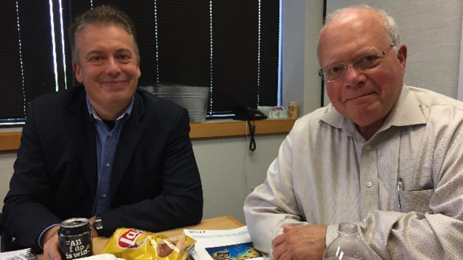 Linear Technologys Gründer und CTO Bob Dobkin empfing D&E-Chefredakteur Frank Riemenschneider zum Lunch.