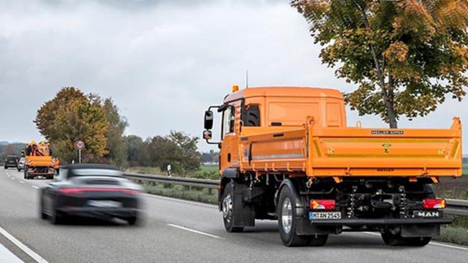 Der Prototyp für das Projekt aFAS aus dem Hause MAN soll in Hessen auf dem Seitenstreifen von Autobahnen getestet werden.