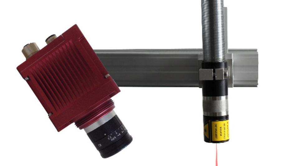 Der 3D-Sensor »C5-1280-GigE« von AT Automation Technology ermittelt die 3D-Daten mit einer Messgeschwindigkeit von bis zu 200.000 Profilen/s.