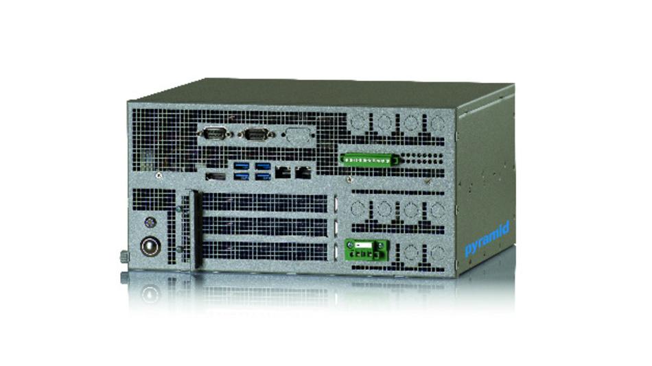 Der modulare Industrie-PC »IPC-Flex« von Pyramid Computer lässt sich bei Temperaturen von bis zu 45 °C betreiben.