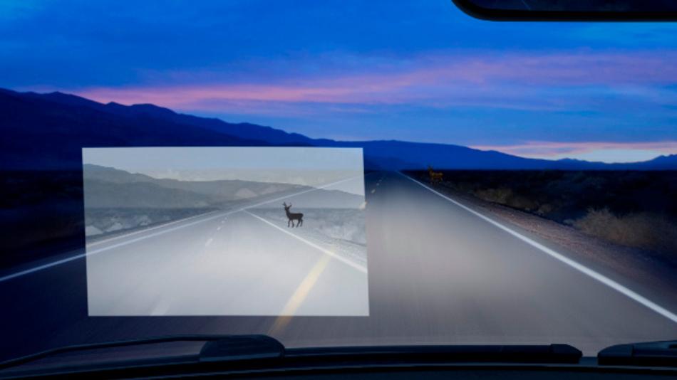 Die Synios-Infrarot-LED eignet sich zum Beispiel für Nachtsichtassistenten oder Fahrzeugvorfelderkennung.