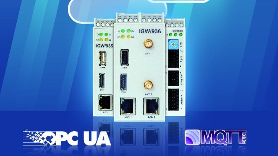 Die Maschinen- und Anlagen-Gateways IGW/935 und IGW/936 erhalten durch ein Software-Update zusätzliche Funktionen.
