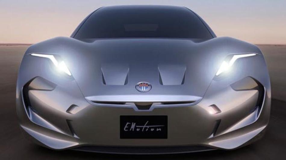 Emotion pur: Der Elektroflitzer Fisker Emotion soll Tesla Konkurrenz machen.