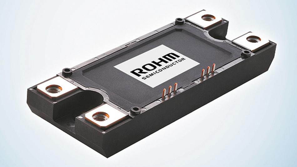 Bild 5. Voll-SiC-Modul basierend auf Rohms Trench-Technologie.