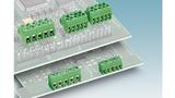 Pinstrip-Stecker sind kaum größer als vergleichbare Leiterplattenklemmen