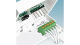Die Tape-on-Reel-Verpackung ermöglicht die automatisierte Verarbeitung der Pinstrip-Stiftleisten in Reflow-Lötprozessen