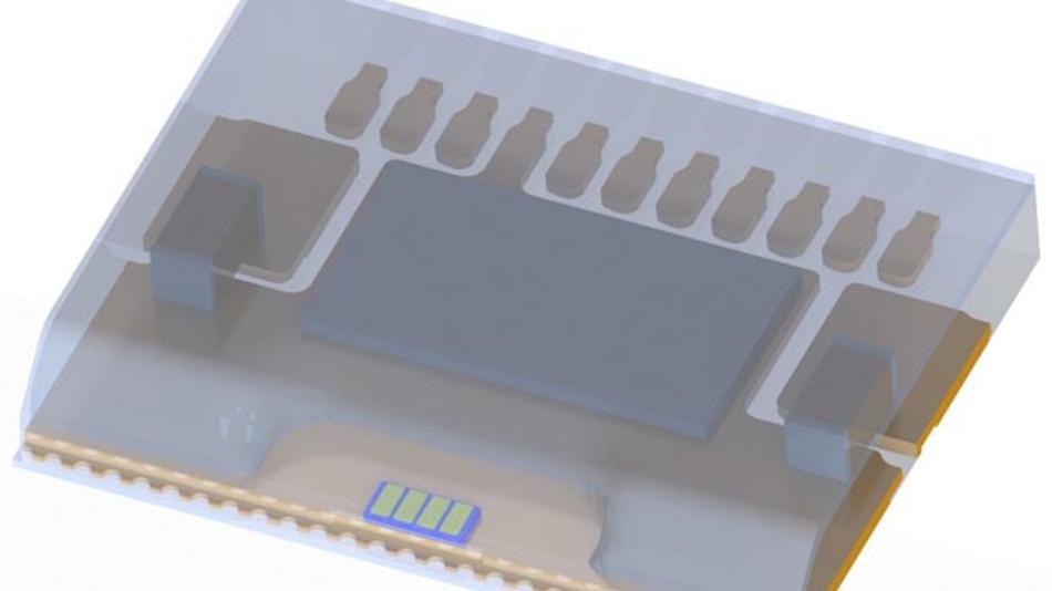 Osram Opto Semiconductors zeigt den Prototypen eines Mehrkanal-Scanners für Lidar-Scanning auf der Electronica.