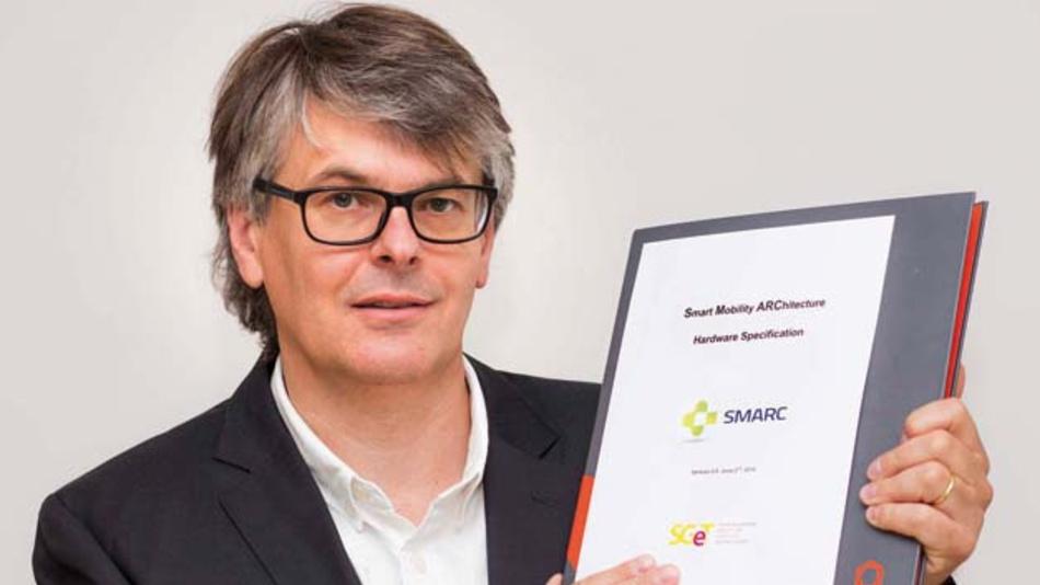 Christian Eder, congatec »Der neue SMARC-2.0-Standard besticht durch sein umfangreiches I/O-Angebot für multimediaorientierte IoT-Applikationen.«