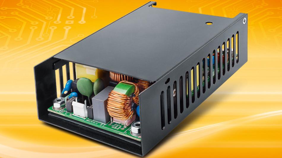Schaltnetzteil BEO-3000MC, konzipiert für den Einsatz in Medizingeräten und medizinischen Rechnersystemen.