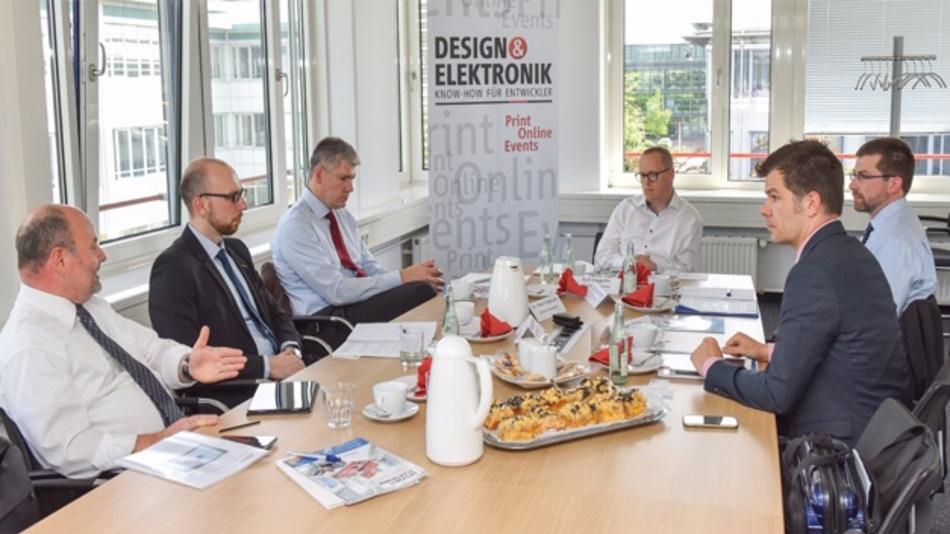 Auf dem TechTalk der DESIGN&ELEKTRONIK zum Thema »Magnetics für GaN und SiC« diskutierten die Teilnhmer lebhaft.