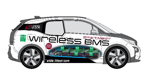 Das Konzeptauto, der BMW i3 mit drahtlosem BMS, zeigt, wie die Funktechnologie von Linear die Zuverlässigkeit erhöhen und das Design von Autobatterie-Managementsystemen vereinfachen kann.