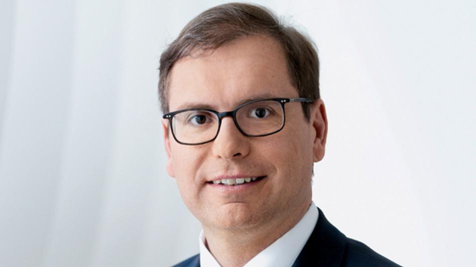 Falk Senger, Geschäftsführer Messe München und zuständig für die Weltleitmesse electronica.