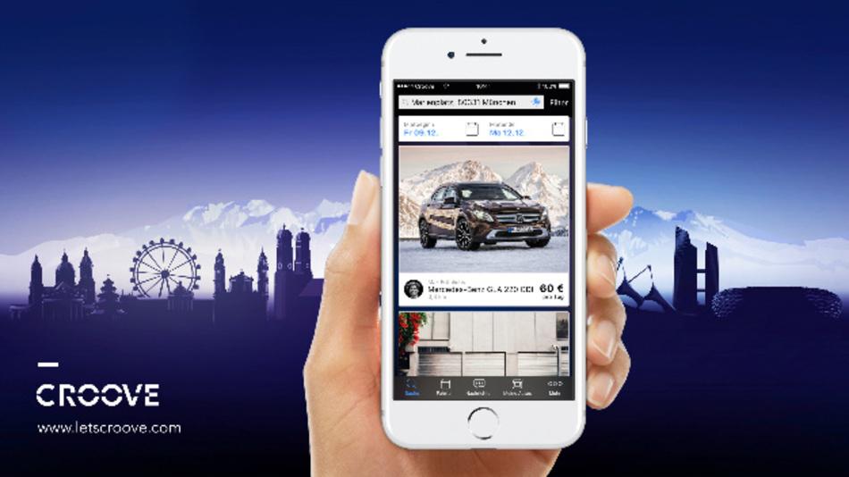 Croove heißt der neue, App-basierte Service von Mercedes-Benz für private Fahrzeuganbieter und -mieter