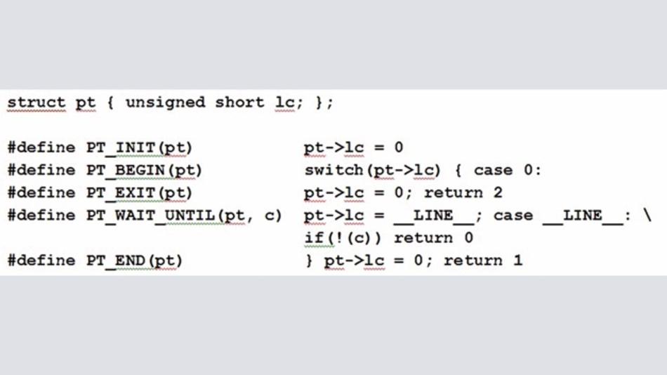 Bild 7: Protothread Makro-Definition.