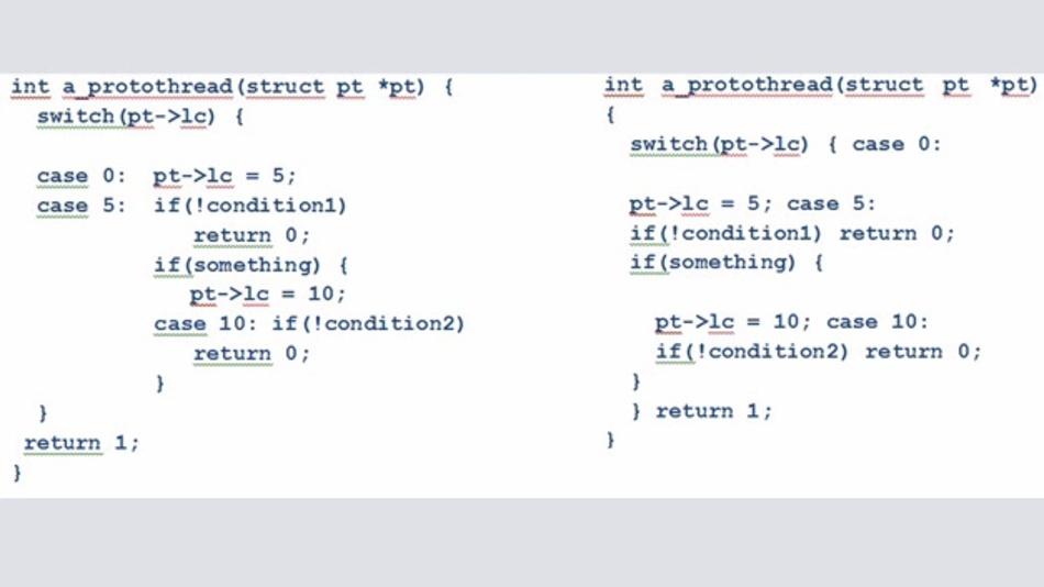 Bild 9: Expandierte und umformatierte »Thread«-Zustandsmaschine.