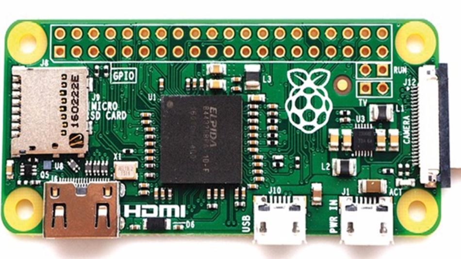 Bild 1: Raspberry Pi Zero V1.3